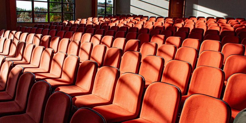 auditorio vacío
