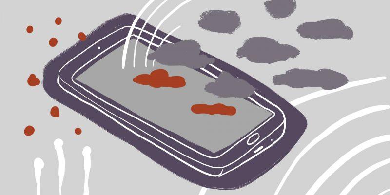 ilustración teléfono